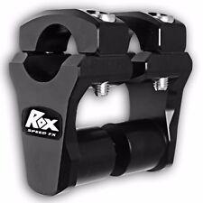BLACK ROX SPEED FX KTM BMW MOTORCYCLE 2 INCH PIVOTING RISER 1-1/8 BAR 1-1/8 STEM