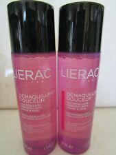 Lierac Demaquillant Douceur Micellar Cleansing Water Face & Eyes 1.7 Oz Lot Of 3