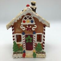 Yankee Candle Wax Warmer Hanging Tart Burner  GINGERBREAD HOUSE Christmas
