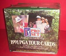 1991 PRO SET GOLF ~FACTORY SEALED HOBBY BOX ~36 PACKS