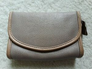 Avon Tan Cosmetic Bag Pre-owned Great Condition