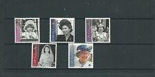 Gibilterra 2001 75 ° compleanno della Regina Elisabetta II sg972-76, MNH