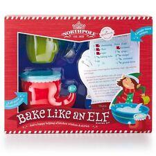 Hallmark Christmas Northpole Bake Like an Elf Baking Kit w/ Recipe Cards