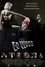 Theatrical Movie Poster Ed Wood (1994), Autographed by Tim Burton
