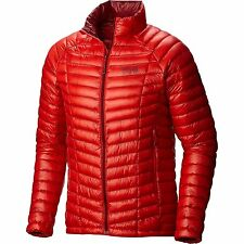 Mountain Hardwear Ghost Whisperer 800 Down Jacket Mens XXL 2XL FIERY RED