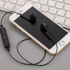 Black Universal Wireless Bluetooth Stereo Earphone Headset For All Phone Pad