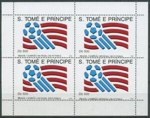 Sao Tomé und Príncipe 1994 Fußball-Weltmeister 1463 K postfrisch (C28281)