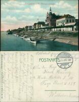 Ansichtskarte Königswinter Rheinpromenade 1907
