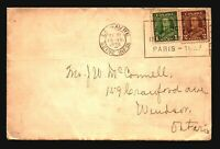 Canada 1936 Cover / French Franking Paquebot (2) - Z16779