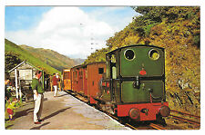Talyllyn Railway, Locomotive No. 2 Dolgoch at Station 1967 Towyn, Merioneth PMK
