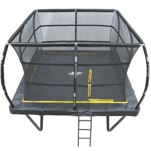 15ft x 15ft Telstar ELITE Bounce Arena Trampoline Package with Cover and Ladder