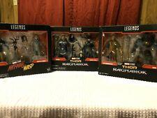MARVEL LEGENDS SERIES LOT!! ANTMAN-THE WASP-SKURGE-MARVELS HELA-THE GRANDMASTER-