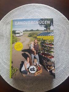 Landvergnügen 2021 der Stellplatzführer, Neu mit Vignette und Mitgliedskarte