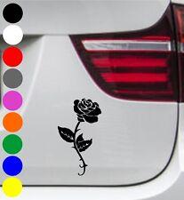 WD Autoaufkleber ROSE BLUME FLOWER Tuning Aufkleber Sticker Sprüche Decal 20cm