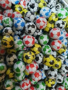 CHOCOLATE FLAVOUR FOOTBALLS, TRADITIONAL PICK AND MIX RETRO SWEETS