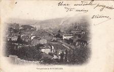 RIVE-DE-GIER vue générale timbrée 1906