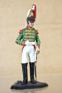 TRADITION of LONDON 90mm NAPOLEONIC FRENCH DRAGOON SOLDIER STUDIO PAINTED