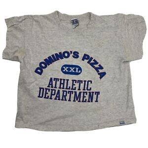 Domino's Pizza Athletic Department Men's T-Shirt Size M VTG Gear For Sports