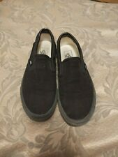 Black Men's Size 8 Vans