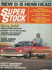 SUPER STOCK 1975 JUNE - VETTE IRS, D6 HEMI HEADS, SHAFIROFF, GREER