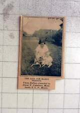 1927 Prize Photo Award To Oscar V Caballero, Matehuala, San Luis Potosí