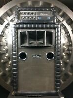 Kustom Tuck And Roll Bass Speaker Cabinet w/ Horn