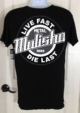 Oneill Graphic T Shirt Mens Metal Mulisha Grind 100 Proof Cotton SS Top L NWT