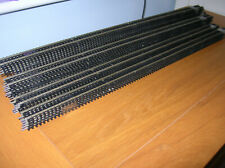 OO Gauge Hornby R603 Nickel Silver straight track x 34 lengths good condition