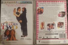 IT TAKES TWO RARE DELETED DVD KIRSTIE ALLEY & STEVE GUTTENBERG OLSEN TWINS FILM