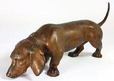 Figur/ Tierfigur/ Hund, Spritzguss, Wien, um 1900 AL443