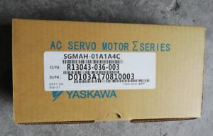 1PC YASKAWA AC SERVO MOTOR SGMAH-01A1A4C  NEW ORIGINAL FREE EXPEDITED SHIPPING
