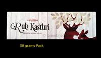 Premium Ruh Kasturi Deer Musk Essential oil Specialty Natural Incense Sticks 50g