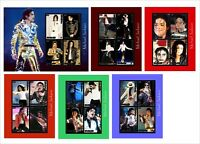 2009 MICHAEL JACKSON MUSIC SINGER 6 SOUVENIR SHEETS MNH UNPERFORATED