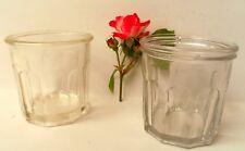 Anciens pots à confiture bocal Reims  jam jar french flacons déco vintage