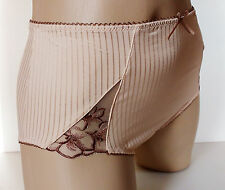 Pretty Ladies Biscuit Midi Style Panties Full Bum Knickers UK 20 XXXL
