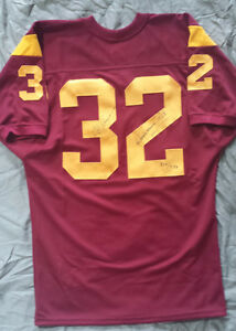 OJ. Simpson Autographed USC Trojans Football Jersey w/COA Limited Addition