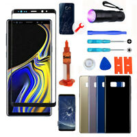 For Samsung Galaxy Note 8 Front Screen Glass Back Replacement Repair Tools Kit