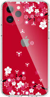 ZQ-Link Clear Case with Floral Pattern Design for iPhone 11 Pro 5.8 Inch 2019,