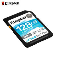 Kingston Canvas Go! Plus 128GB C10 UHS-I U3 V30 Speicherkarte für Kamera 170MB/s