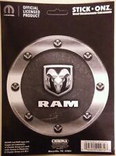 Dodge RAM truck sticker decal logo vinyl gas fuel lid cap head Mopar pickup 5.25