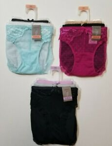 Secret Treasures 3 Pack Panty Bikini Lingerie Lace Sexy Style XS - XXL NWT