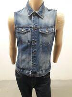 Giubbino Jeans PULL&BEAR Uomo Jacket Man Veste Homme Taglia size M Cotone 8369