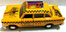"Die cast Classic New York City Old Fashion Yellow Taxi Cab toy model 5"" Liberty"