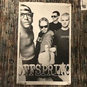 OFFSPRING 1990s HUGE POSTER vtg Grunge Extremely RARE 1995 lisa johnson brockum