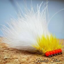 Hothead Yellow Dancer Size 12 (Set of 3)  Fly Fishing Flies Fry Wet