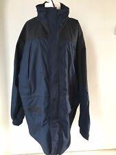Resultado ropa 3XL Para Hombre Impermeable Abrigo Azul Marino Negro Capucha Desmontable