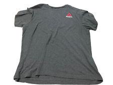 MEN Reebok CrossFit  XL Gray GYM SHIRT