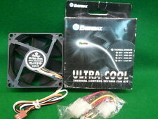 Enermax 80 mm Fan  UC-8TCFS/B  Ball NEW