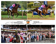 WEST COAST TRAVERS STAKES 2017 COMPOSITE PHOTO 10 X 8