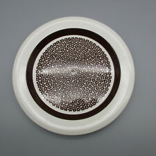 Arabia Finland FAENZA BROWN Dinner Plate